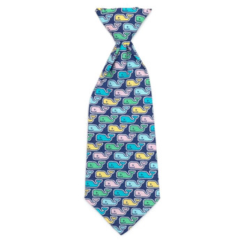 Multi Whale Pet Dog Neck Tie