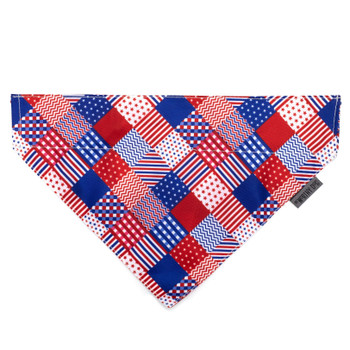 Americana Pet Dog Collar Bandana
