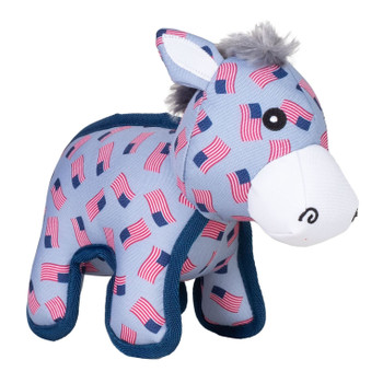Patriotic Donkey Dog Toy - 2 Sizes
