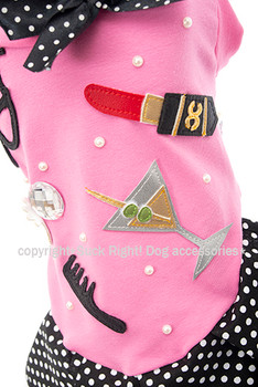 Designer Pin Up Star Dog Dress