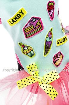 Designer Candy Shop Dog Tutu Dress