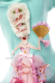 Designer Marie Antoinette Dog Tutu Dress