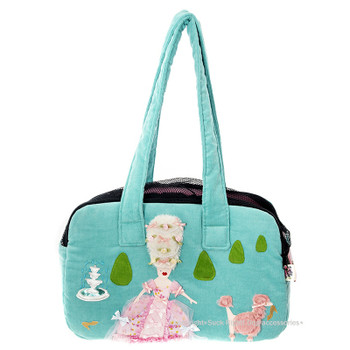 Marie Antoinette Zipper Dog Carrier Bag