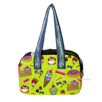 Candy Shop Zipper Dog Carrier Bag