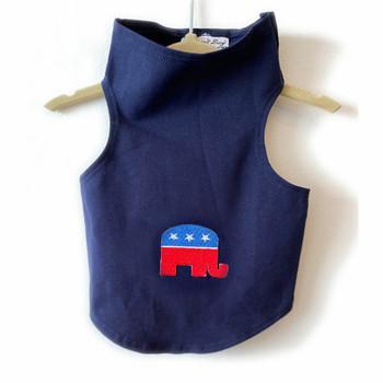 Republican Elephant on Navy Dog Tank