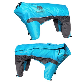 Quantum-Ice Full-Bodied Adjustable And 3M Reflective Dog Jacket