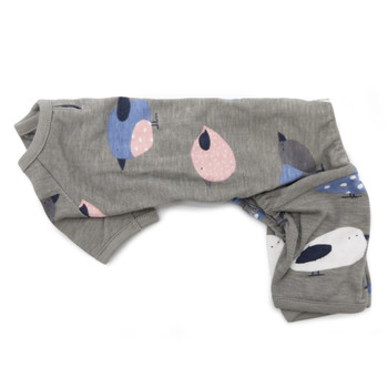 Gray Pj Bird Dog Pajamas