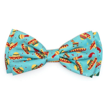 Cinco de Mayo Pet Dog Bow Tie - S/L