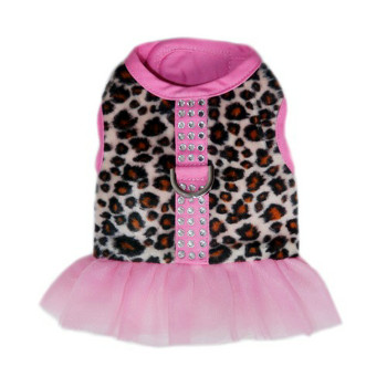 Abigail Leopard Dog Harness Vest