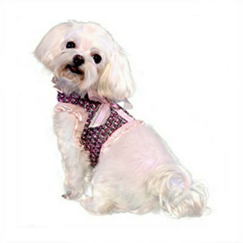 Addison Pink Dog Harness Vest