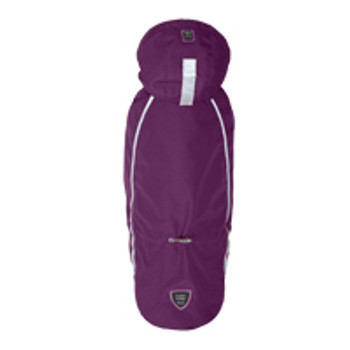 Puppy Angel BIONNE - Urban Outdoor Dog Bodysuit (Raincoat) Purple