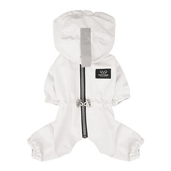 Magagio Dog Raincoat Overalls - Ivory