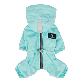 Magagio Dog Raincoat Overalls - Blue