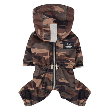 Magagio Dog Raincoat Overalls - Camo