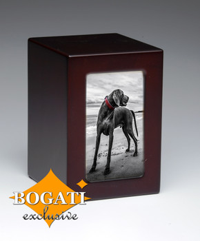 Black Dog Bogati Exclusive Pet Urn - 75 cu.