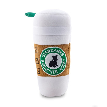 Starbarks Coffee Cup With Lid Dog Toy - XL