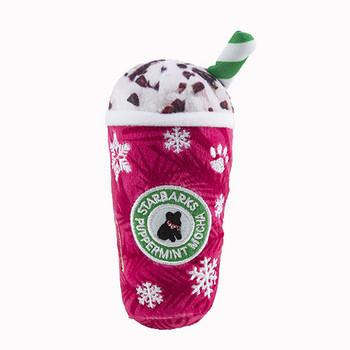 Starbarks Puppermint Mocha Plush Dog Toy