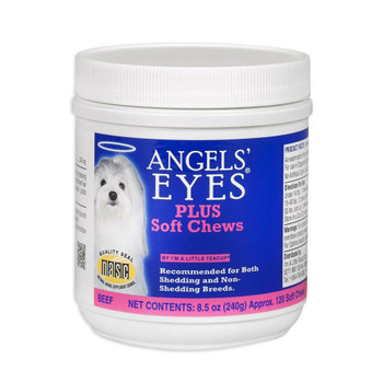 Angels Eyes PLUS Soft Chew Beef Flavor 120ct Dog