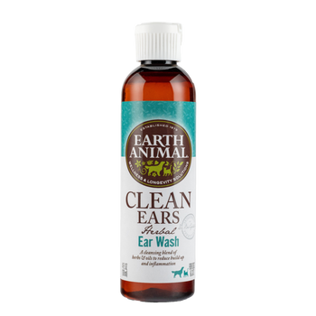 Earth Animal Dog Clean Ear Wash 4oz