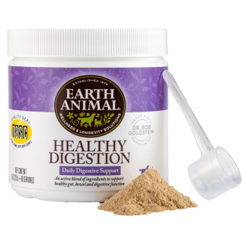 Earth Animal Healthy Digestion Dog Supplement