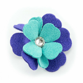 Violet Collection Dog Hair Bow