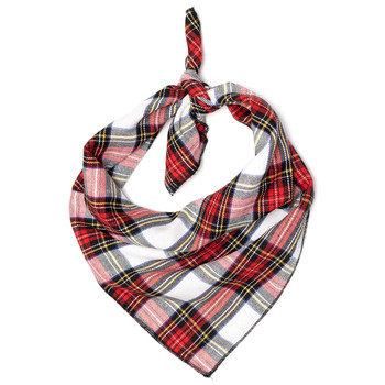 Stewart Tartan Red Dog Tie Bandana