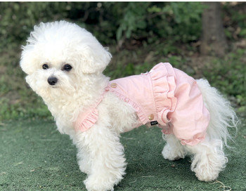 Puppy Angel Carina Volume Dog Pant Overall - Pink