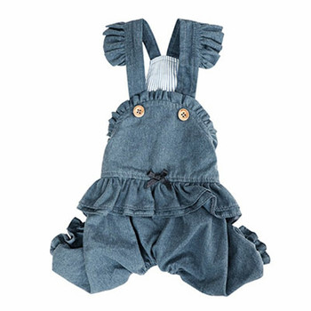 Puppy Angel Carina Volume Dog Pant Overall - Navy