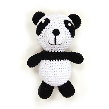Panda PAWer Squeaker Dog Toy
