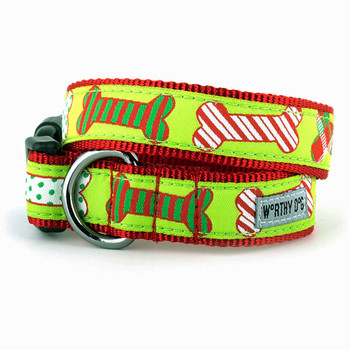 Holiday Bones Pet Dog Collar
