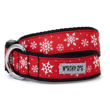 Let It Snow Pet Dog Collar