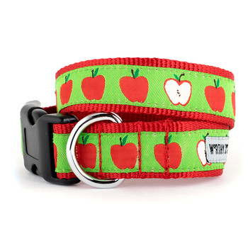 Apples Pet Dog Collar & Lead
