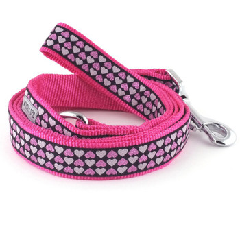 Hearts Pet Dog Collar & Lead