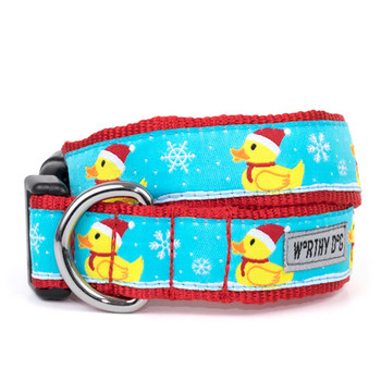 Santa Duck Pet Dog Collar