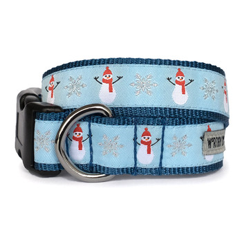 Snowmen Holiday Pet Dog Collar