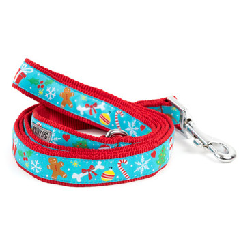 Winter Wonderland Pet Dog Collar & Optional Lead