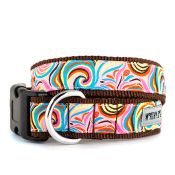 Swirly Pet Dog & Cat Collar & Optional Lead