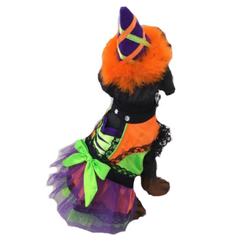 Costume - Neon Witch - Orange