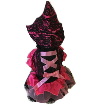Costume - Witch - Pink Lace
