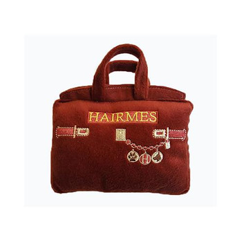 Hairmes Handbag Plush Dog Toy