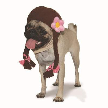 School Girl Pet Dog Hat