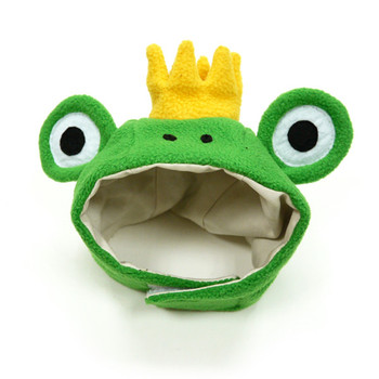 Prince Frog Pet Dog Hat