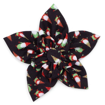 Gnomes Pet Dog Collar Flower