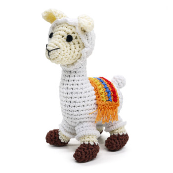 Llama PAWer Squeaker Dog Toy