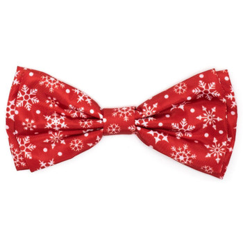 Let It Snow Pet Dog Bow Tie