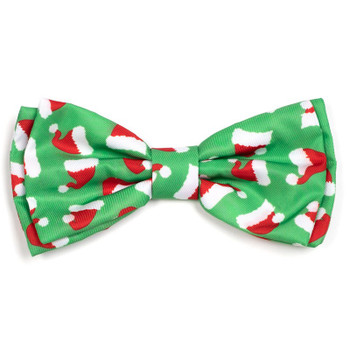 Santa Hats Dog Bow Tie