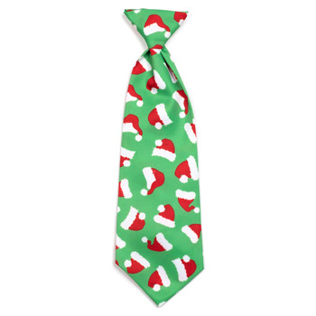 Santa Hats Pet Dog Neck Tie
