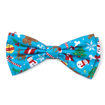 Winter Wonderland Dog Bow Tie