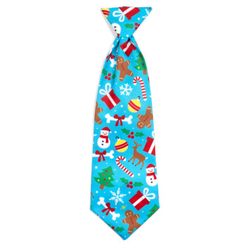 Winter Wonderland Pet Dog Neck Tie