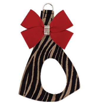 Nouveau Bow Dog Step In Harness - Serengeti Print Base